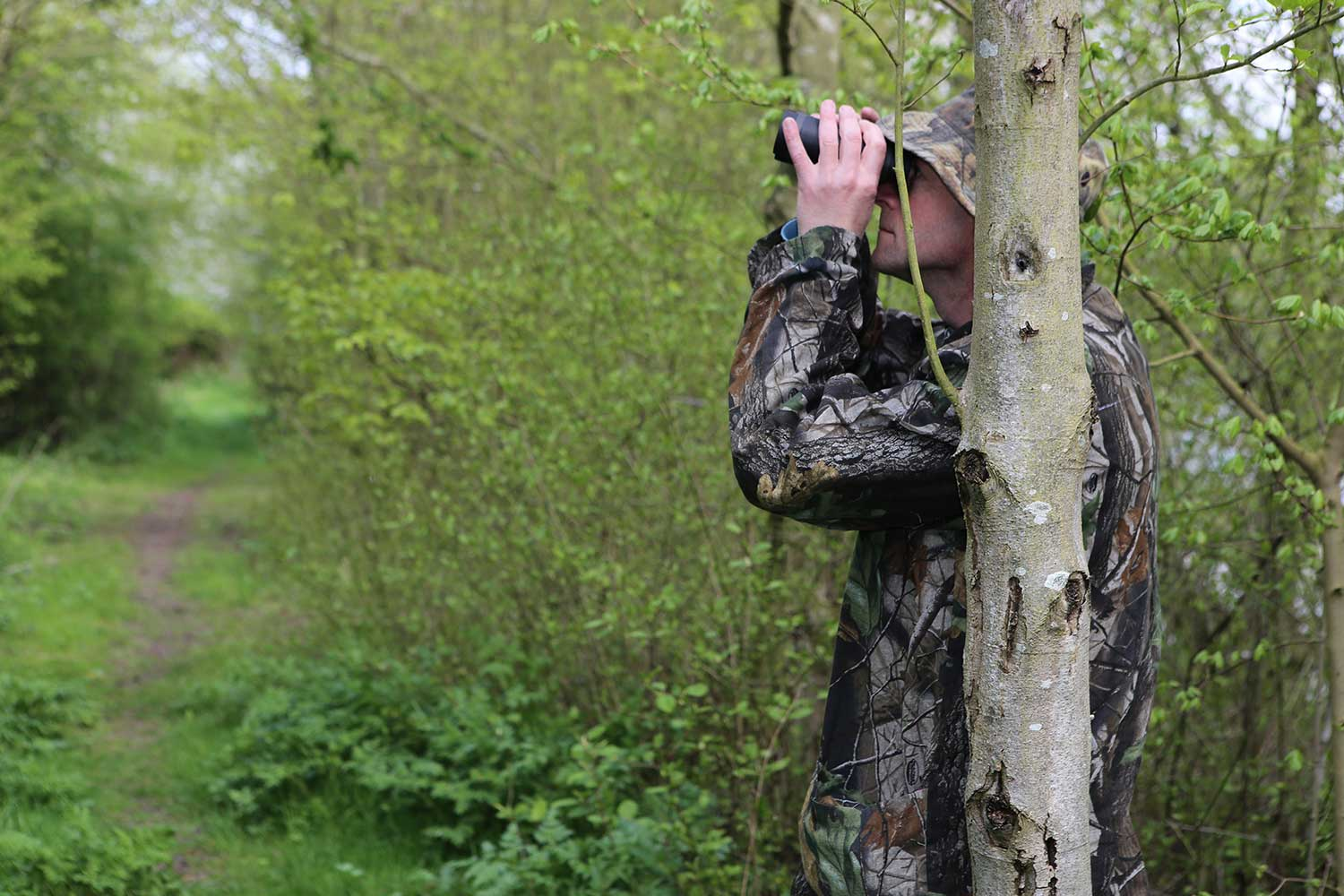 Bird Watching on Pete's Airgun Farm in Essex