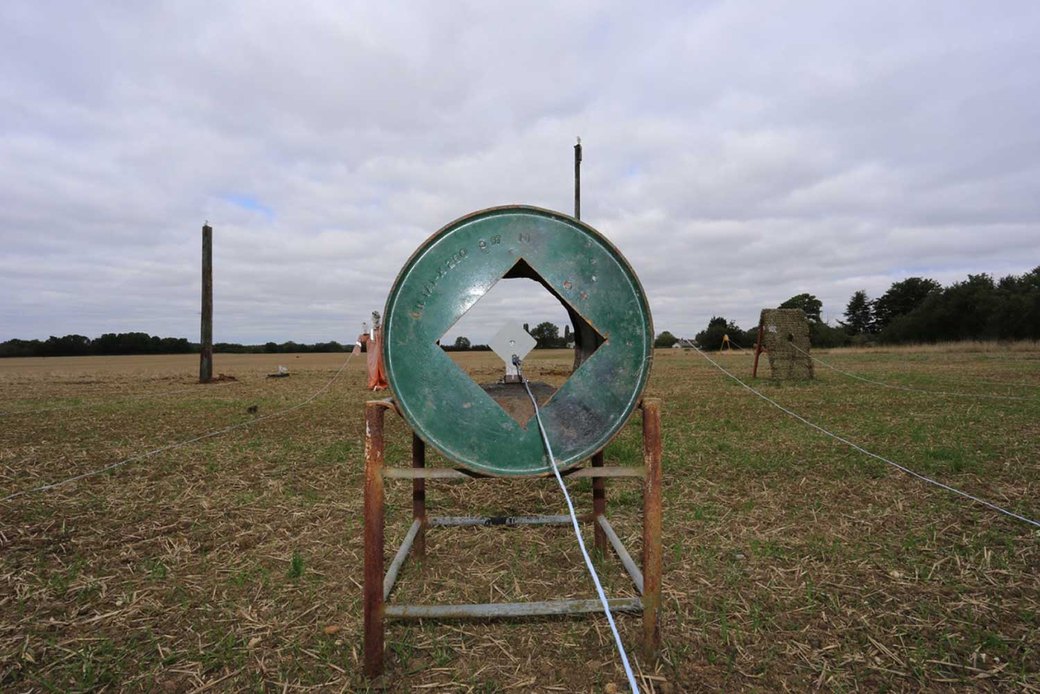 The Hunter Field Target Course (HFT) at Pete's Airgun Farm in Essex