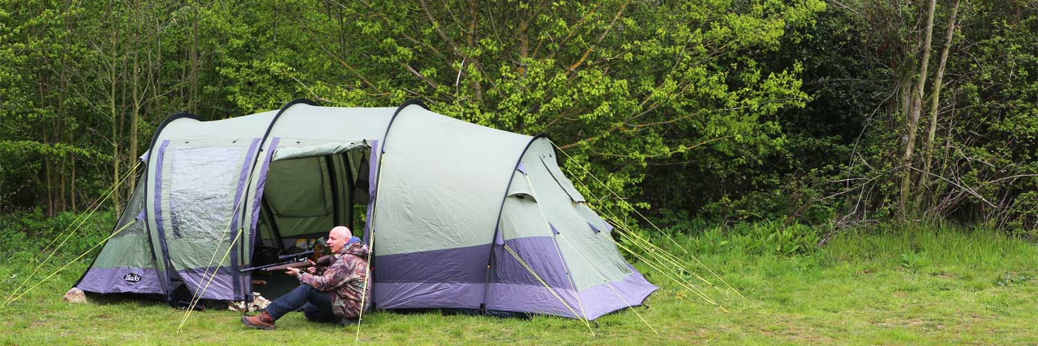 Wild Camping with Air Rifles at Pete's Airgun Farm